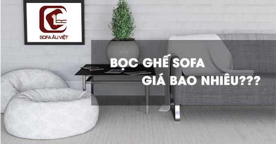 Bọc lại ghế sofa giá bao nhiêu tiền