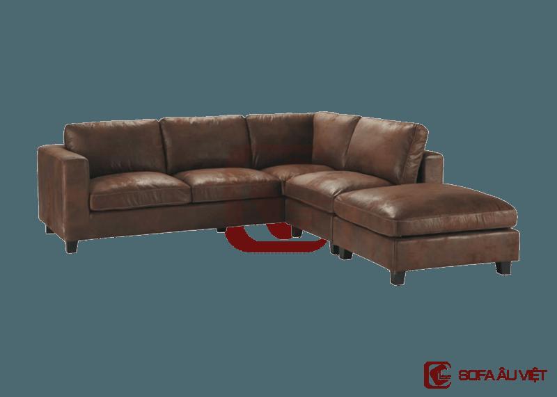 Ghế sofa góc SFG 003 màu nâu