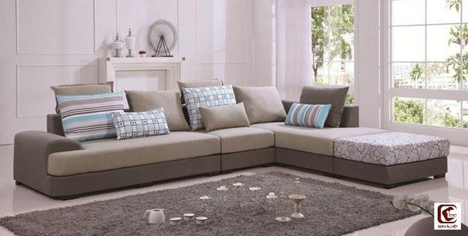 Ghế sofa chất liệu vải
