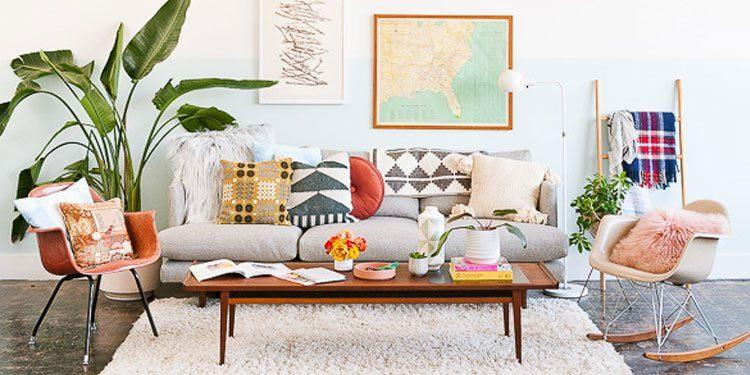 Trang trí đệm ngồi cho ghế sofa