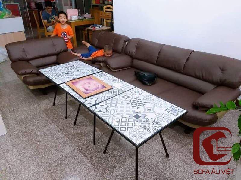 Dự Án Ghế Sofa Giả Da