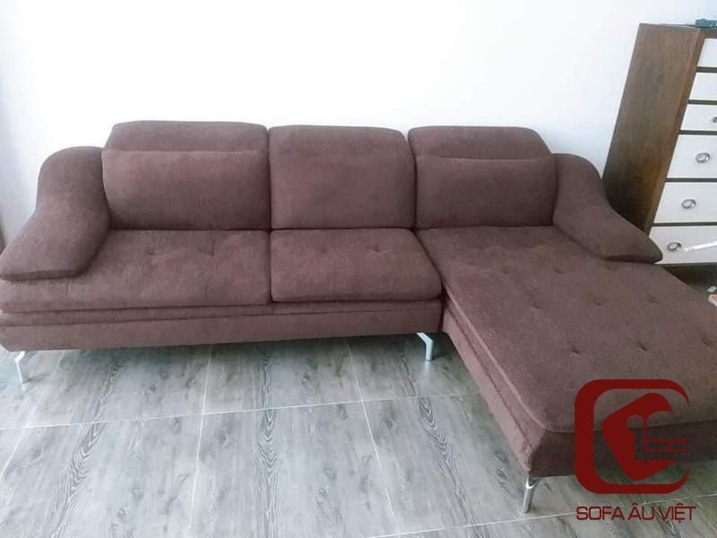 Ghế Sofa Góc Trước Khi Bọc Lại