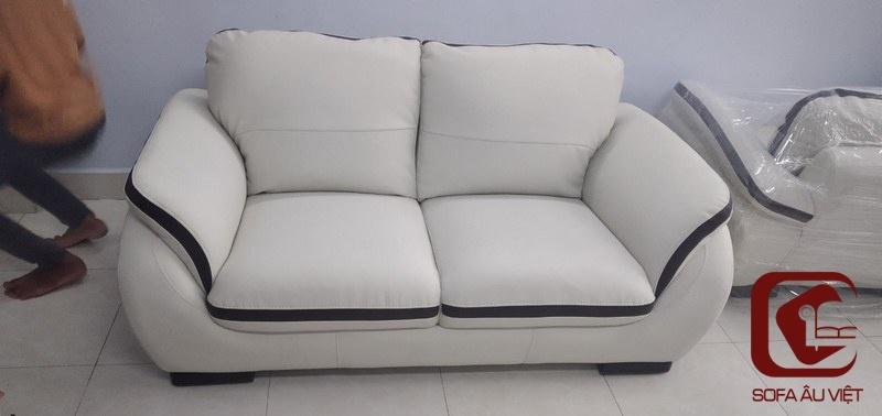 Ghế sofa sau khi bọc lại
